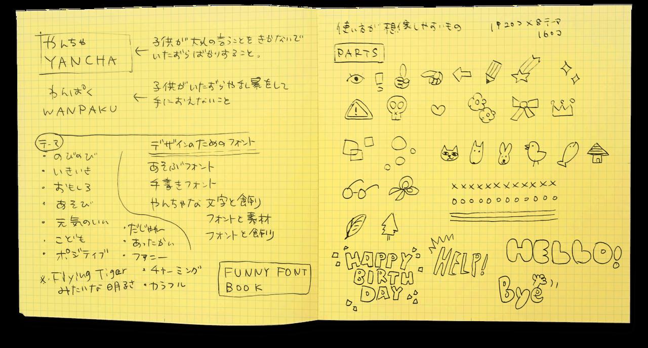 ノート使用例